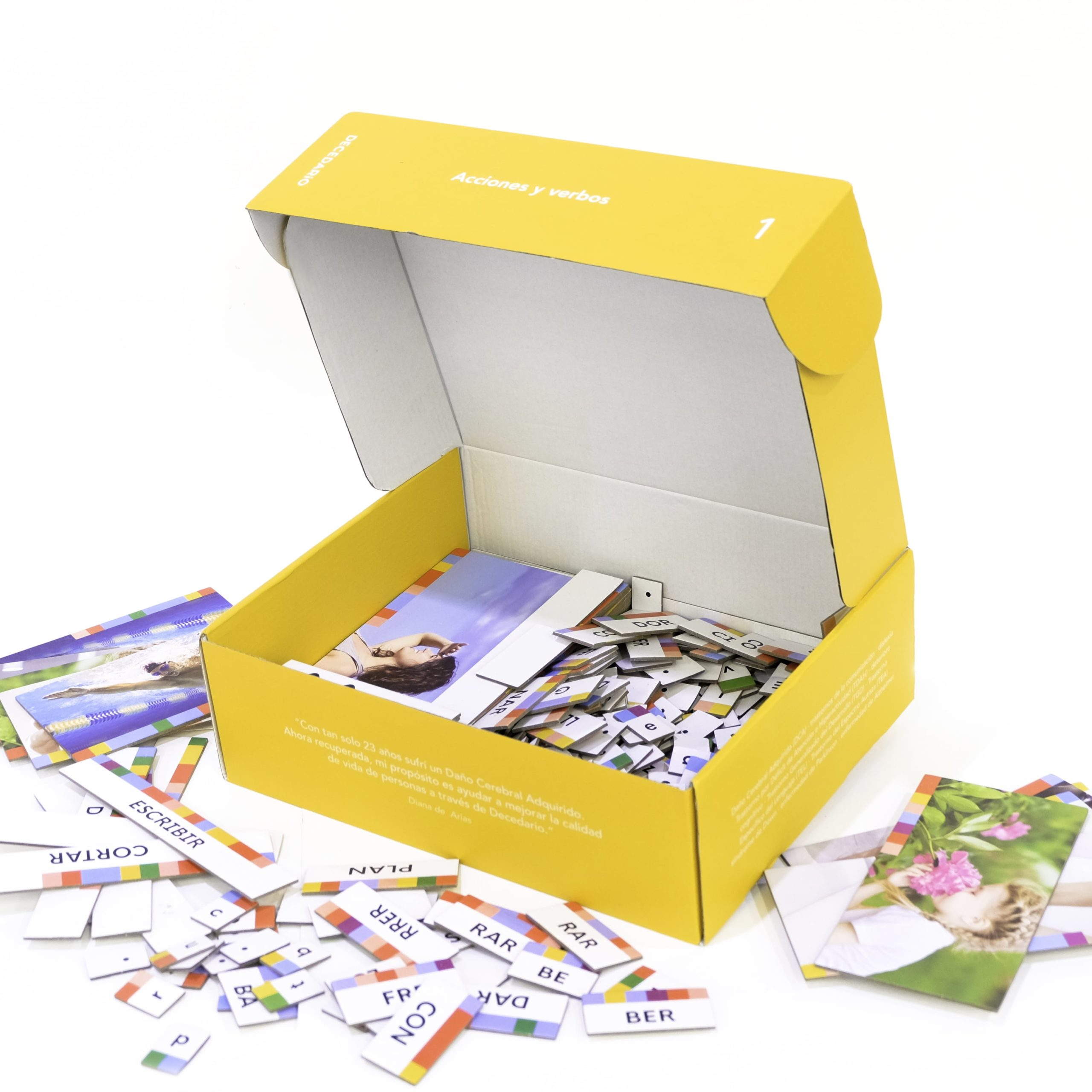 La caja Decesario para trabajar la estimulación cognitiva